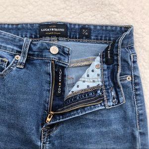 "Lucky Brand ""Lucky You"" Bridgette Skinny Jeans"